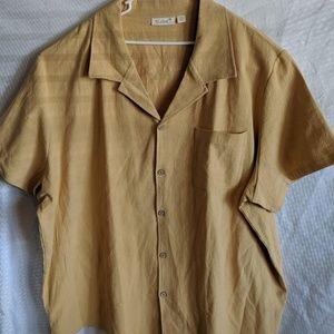 Men's 5XL Button Up Casual Dress Shirt KS Island